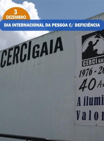 DIA INTERNACIONAL DA PESSOAS C/ DEFICIÊNCIA